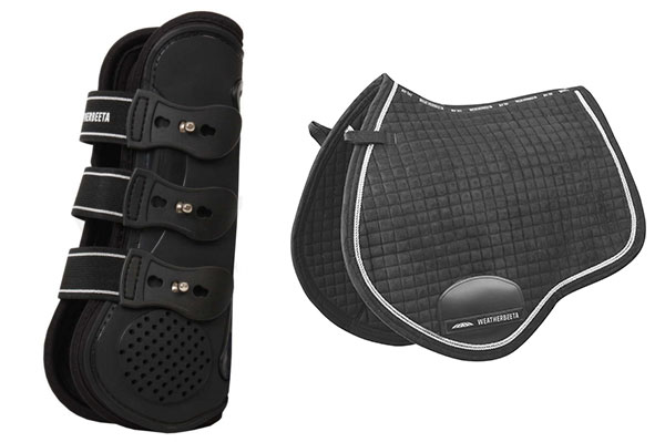 Weatherbeeta Pro Air Front boots & Prolux All Purpose Saddle Pad up for grabs